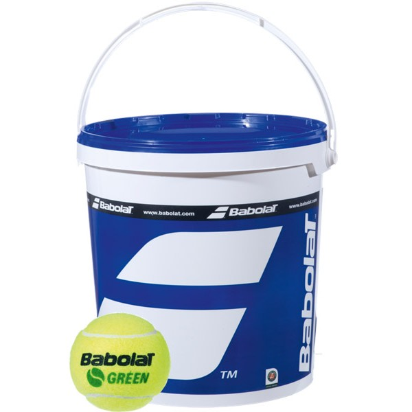 Baril de 72 balles de tennis Babolat intérmédiaires