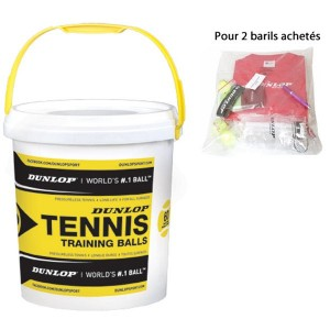 dunlop baril 60 balles training