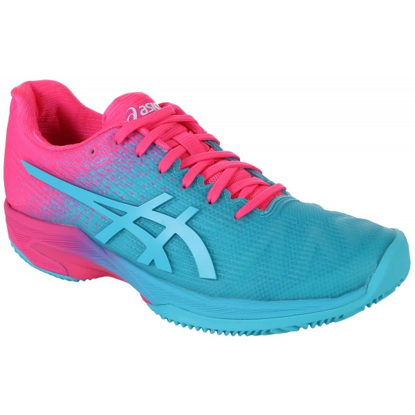 CHAUSSURES ASICS FEMME SOLUTION SPEED FF EXCLUSIVES TERRE BATTUE