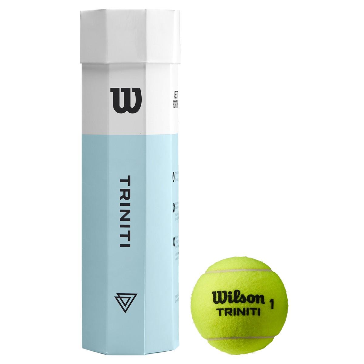 TUBE DE 4 BALLES WILSON TRINITI
