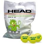 head sachet 72 balles tip green