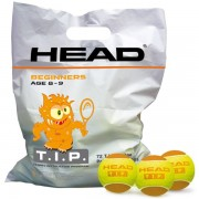 head sachet 72 balles tip orange