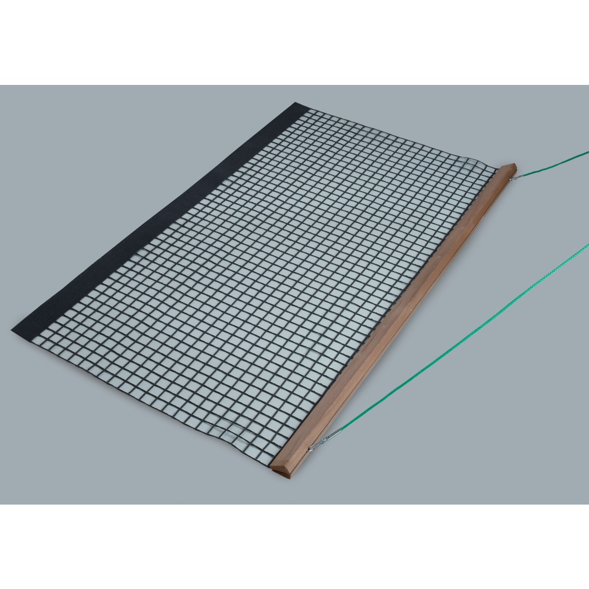 Filet de balayage simple rail en bois